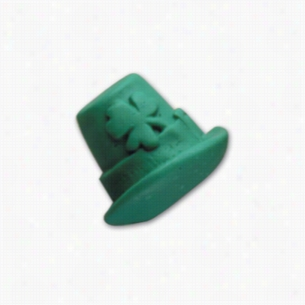 Pencil Top Stock Eraser- Leprechaun Hat
