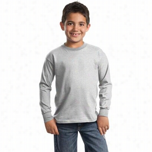 Port & Company Youth Long Sleeve Essential T-Shirt