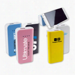 5200 mAh Power Bank with Phone Holder