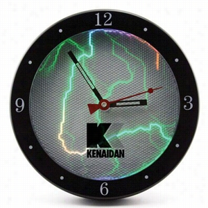 "9"" Sound-Activated Plasma Wall Clock"