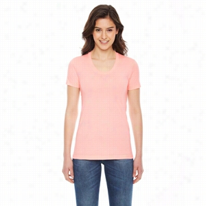 American Apparel Ladies' Poly-Cotton Short-Sleeve Crewneck