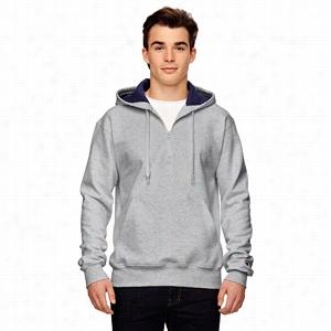 Champion 9.7 oz 90/10 Cotton Max Quarter-Zip Hood