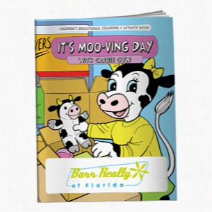 Coloring Book: It's Moo-ving Day