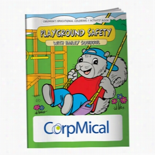Coloring Book: Playground Safety