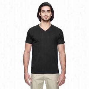 Econscious Men's 4.4 oz., 100% Organic Cotton Short-Sleeve V-Neck T-Shirt