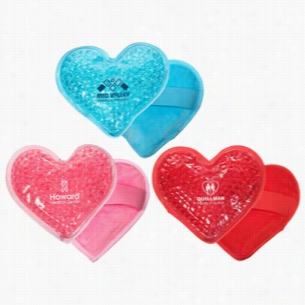 Plush Heart Hot Cold Pack