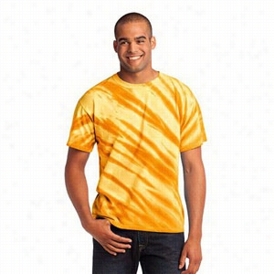 Port & Company Essential Tiger Stripe Tie-Dye Tee