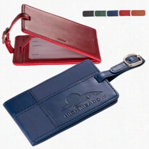 Tuscany Duo-Textured Luggage Tag
