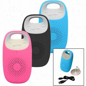 AQUA PHUSIC Waterproof Bluetooth Speaker with Speakerphone Function