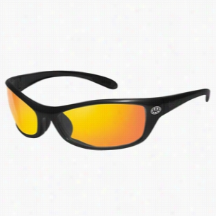 Bolle Spider Red Mirror Glasses