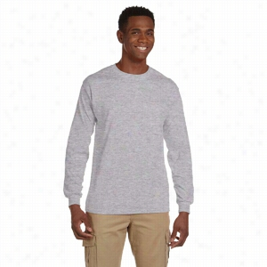 Gildan 6 oz Ultra Cotton Long-Sleeve Pocket T-Shirt