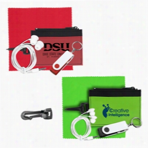 Mobile Tech Auto Accessory Kit in Travel ID Wallet