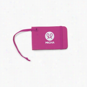 Moleskine Luggage Tag - Deep Pink