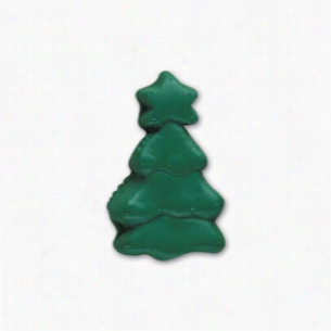Pencil Top Stock Eraser- Christmas Tree