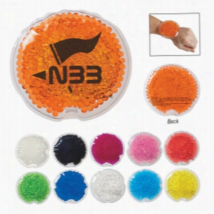 Small Round Gel Beads Hot Cold Pack