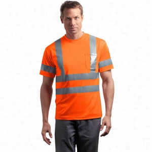 CornerStone ANSI Class 3 Short Sleeve Snag-Resistant Reflective T-Shirt