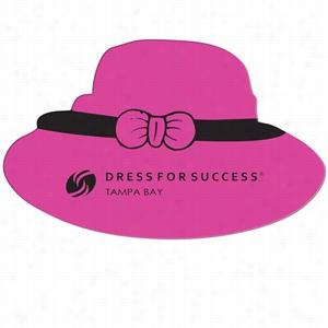 Dress Hat Window Sign