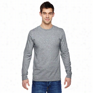 Fruit of the Loom 4.7 oz., 100% Sofspun Cotton Jersey Long-Sleeve T-Shirt