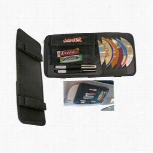 Multipurpose CD DVD Visor Caddy