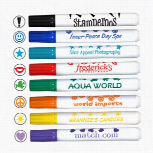 Stamperoos - Washable Ink Stamping Markers - USA Made