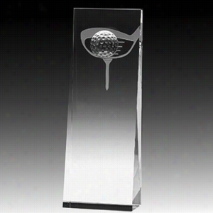 Everett Embedded Golf Ball, Club & Tee Award