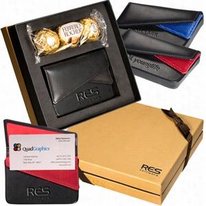 Ferrero Rocher Chocolates & Card Case Gift Set