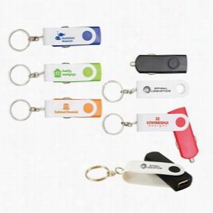 Flip N Charge USB Key Chain