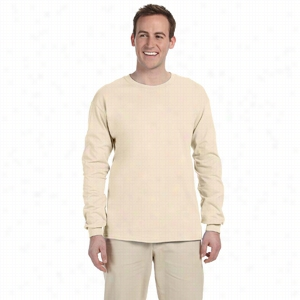 Fruit of the Loom 5 oz 100% Heavy Cotton HD Long-Sleeve T-Shirt