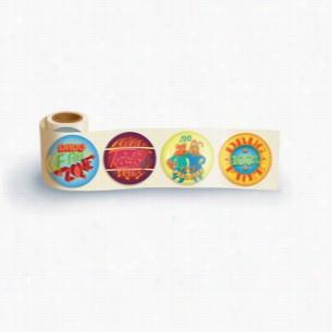 Fun Sticker Roll - Drug-Free Zone