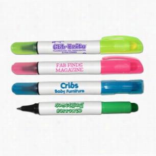 Gel-Escent Fluorescent Gel Highlighter & Ball Point Pen Combo