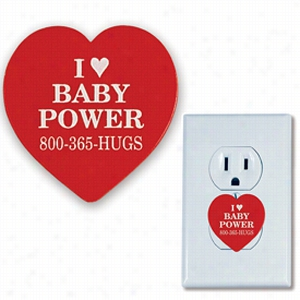 Heart Shape Electrical Outlet Safety Plug