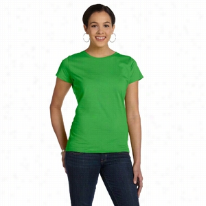 LA T Sportswear Fine Jersey Longer Length T-Shirt