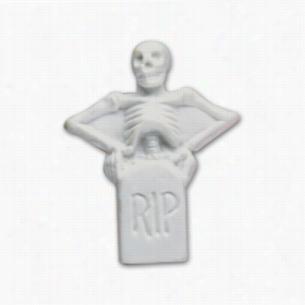 Pencil Top Stock Eraser- Skeleton