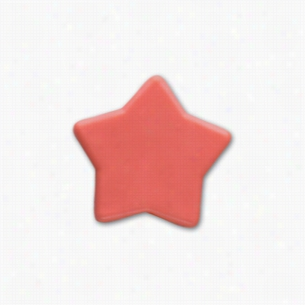 Pencil Top Stock Eraser- Stars, Assorted Colors
