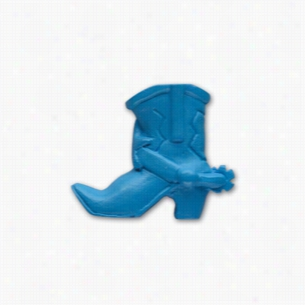 Pencil Top Stock Eraser- Western Boot