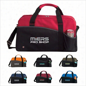 Polyester Center Court Sports Duffel Bag 18