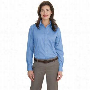Port Authority Ladies Long Sleeve Non-Iron Twill Shirt