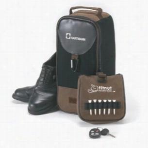 The Par - Angolan Leather Shoe Bag