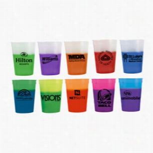 12 oz Color Changing Custom Mood Stadium Cup