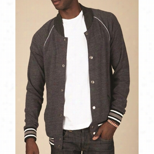 Alternative Eco Cashmere Baseball Jacket