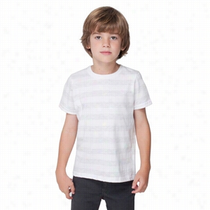 American Apparel Toddler's Fine Jersey Short-Sleeve T-Shirt