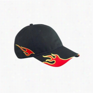 Big Accessories Flame Cap