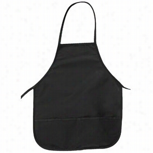 "Big Accessories Two-Pocket 24"" Apron"