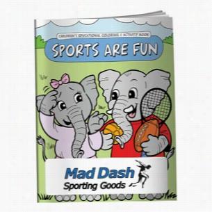 Coloring Book: Sports are Fun