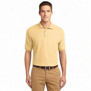 Custom Port Authority Silk Touch Polo Shirt