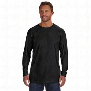 Hanes 4.5 oz 100% Ringspun Cotton nano-T Long-Sleeve T-Shirt