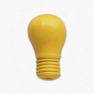 Pencil Top Stock Eraser- Light Bulb