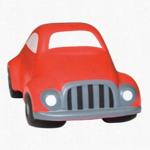 "Red ""Speedy"" Car Squeezies Stress Reliever"