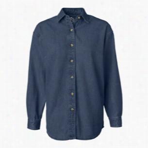 Sierra Pacific Ladies' Long Sleeve Denim Shirt