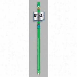 Tube Pens - Transparent pen with with a durable, two sided, vinyl laminate book attachment